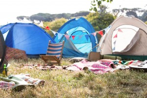 Camping at The Divide Music Festival
