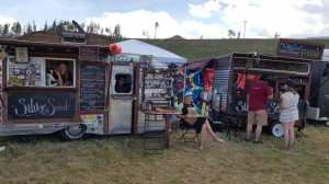 Food Trucks at Divide Music Festival